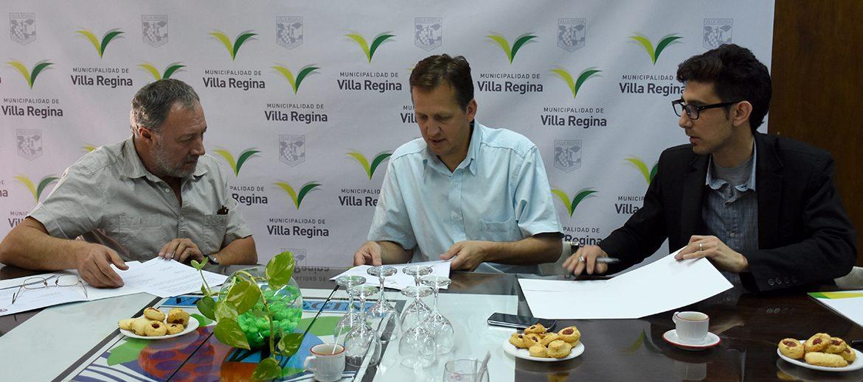 Convenio con el municipio de Villa Regina