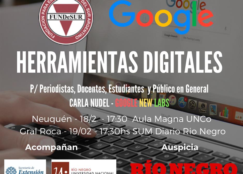 La UNCo emitió la declaración  de interés para «Google para Periodistas»