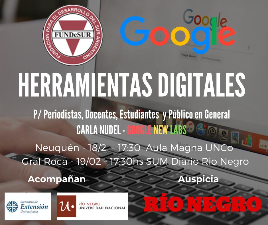 """La UNCo emitió la declaración  de interés para """"Google para Periodistas"""""""