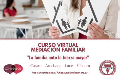 Curso virtual sobre Mediación Familiar