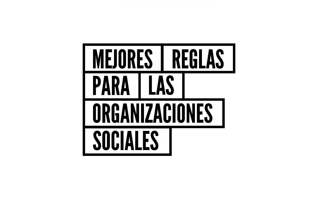 Mejores Reglas Para Las Organizaciones de la Sociedad Civil